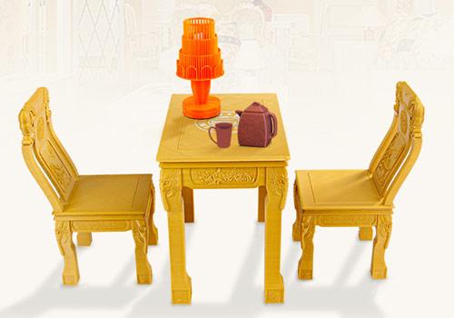 پرینت سه بعدی میز و صندلی و لوازم منزل پرینتر سه بعدی Dragon S