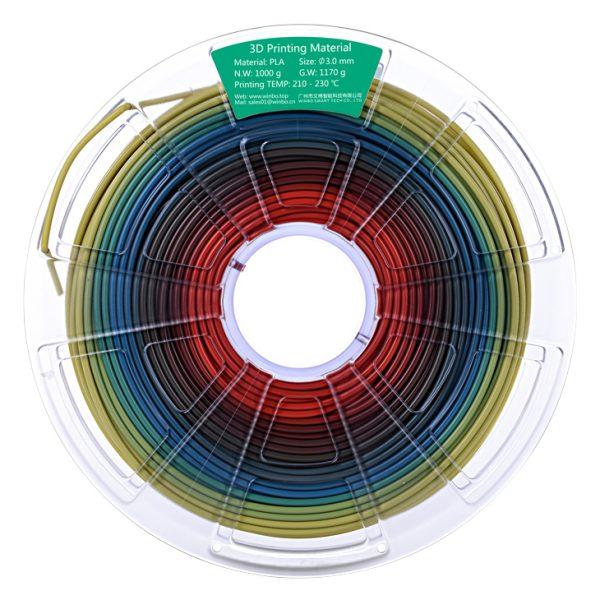 فیلامنت PLA چند رنگ