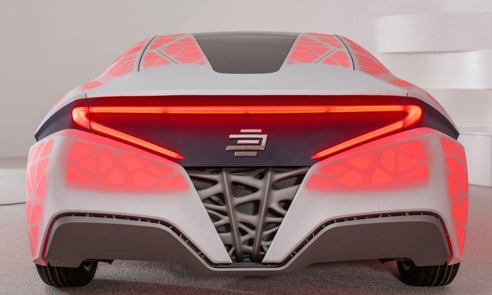 """آینده طراحی اتومبیل با پرینت سه بعدی بدنه """"قاب فضایی عصر جدید"""" آینده طراحی اتومبیل با پرینت سه بعدی بدنه """"قاب فضایی عصر جدید"""""""