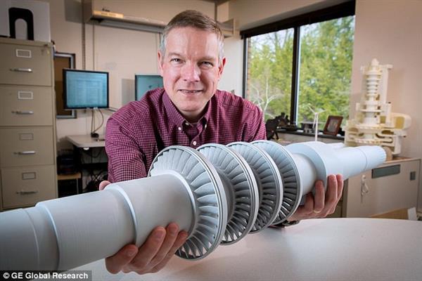 ساخت توربین دی اکسید کربن با استفاه از پرینتر سه بعدی پلاستیک ساخت توربین دی اکسید کربن با استفاده از پرینتر سه بعدی پلاستیک