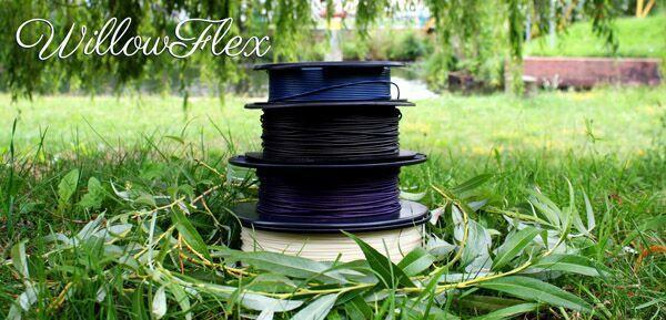 bioinspiration-releases-285-version-eco-friendly-willowflex-3d-printing-filament-2 مواد اولیه پرینتر سه بعدی دوستدار محیط زیست