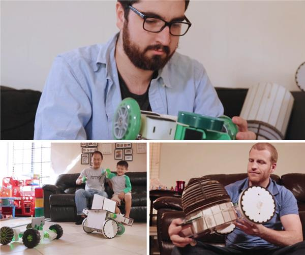 استفاده از پرینترهای سه بعدی در پروژه ربات کنترل با دست زیرو استفاده  از پرینترهای سه بعدی در پروژه ربات کنترل با دست زیرو