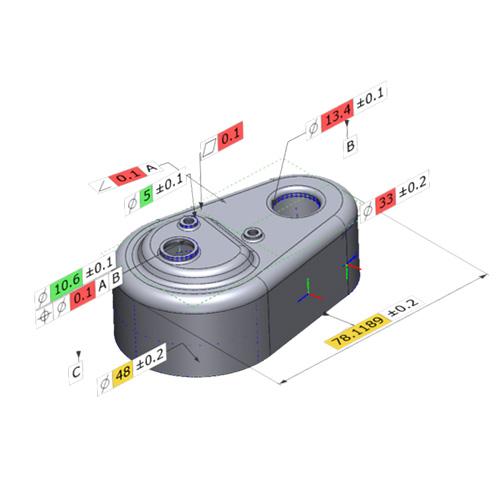 Solutionix C500-8 اسکنر سه بعدی  Solutionix C500